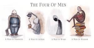 The Four Of Men by RumourTheNoir