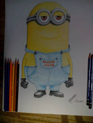 Raghad and Noor minions by WessamADEN