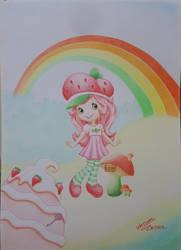 Strawberry shortcake by WessamADEN
