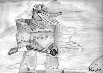 Dwarven Hunter WoW by MackxNL