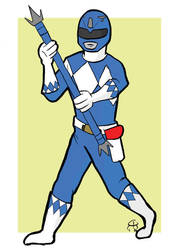 Blue Ranger by hallopino