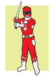 Red Ranger by hallopino