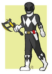 Black Ranger by hallopino