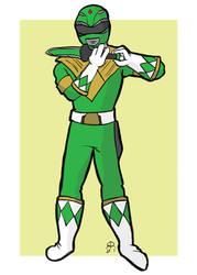 Green Ranger by hallopino
