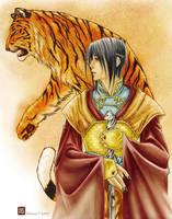 Royal Tiger - original by silvertales