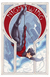 Comic Nouveau Project: Nightwing by silvertales