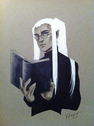 Daily Doodle April 25= Day 115: Thranduil by silvertales