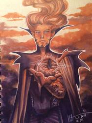 7-11-2014 - Sauron by silvertales