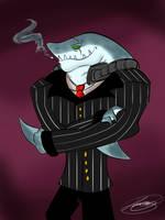 HB: Big Boss Shark by xLittle-Miss-Horrorx
