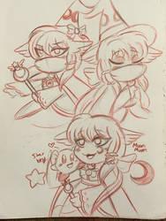 Kirby: Artemis Doodles by xLittle-Miss-Horrorx