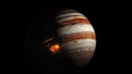 Jupiter's eye by Waysh