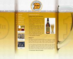 ZeHn Bier Website by alienspawn