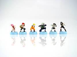 Naruto Chess Set by alienspawn
