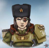 307 regiment General Maria Pavluchenko by MIXSAN