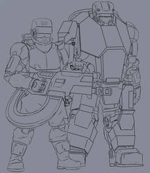 [WIP] Heavy weapons team by MIXSAN