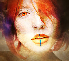 Ghostly Orange by MissRazen