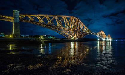 Forth Bridge, Scotland by BusterBrownBB