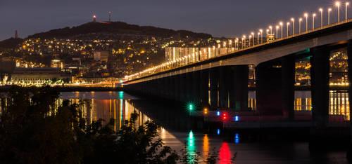 Tay Road Bridge by BusterBrownBB
