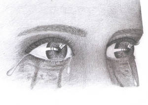Tearful by thekookyartist