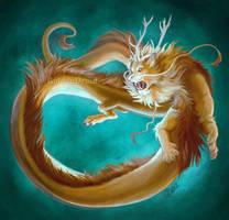 My Zoroscope: LeoDragon by GoldenDruid