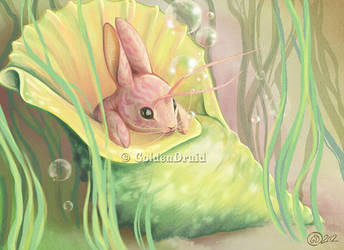 Zoroscope: Cancer-Rabbit by GoldenDruid