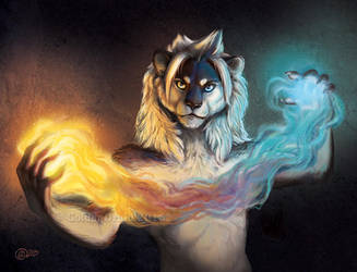 Flame Weaver by GoldenDruid
