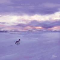 Tundra Sunrise - SpeedPaint by GoldenDruid