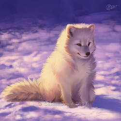 Snowcap - SpeedPaint by GoldenDruid