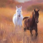 Bright Meadow - SpeedPaint by GoldenDruid
