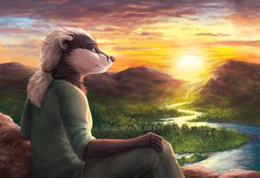 Rados' Sunrise by GoldenDruid