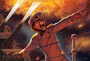 Sea Battle by GoldenDruid