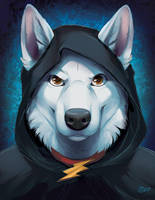 Black Mage - WIP3 by GoldenDruid