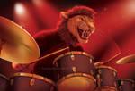 Percussion Predator by GoldenDruid