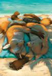 Sunwarmed - WIP2 by GoldenDruid