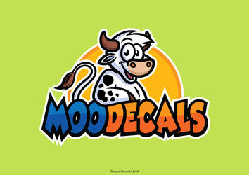MooDecals Logo by TrexycaArtworks