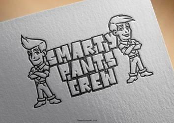 Smarty Pants Crew Cartoon Logo by TrexycaArtworks