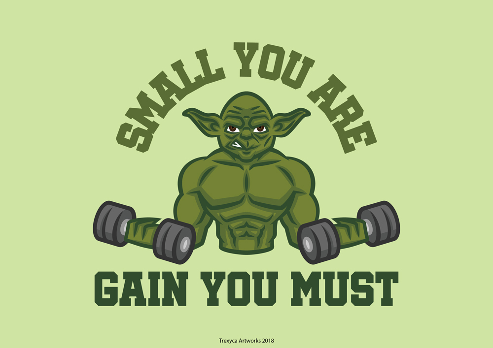 Small you are, Gain you Must by TrexycaArtworks