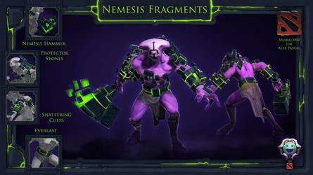 Dota 2 - Faceless Void - Nemesis Fragments by jimanjr
