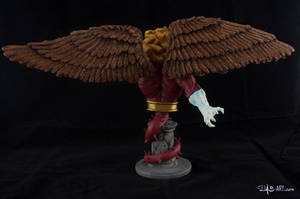 [Garage kit painting #09] Griffin bust - 005 by DasArt