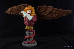 [Garage kit painting #09] Griffin bust - 010 by DasArt