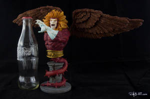 [Garage kit painting #09] Griffin bust - 026 by DasArt