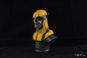 [GK painting #01] Wolverine bust - 002 by DasArt