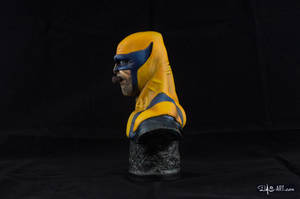 [GK painting #01] Wolverine bust - 003 by DasArt