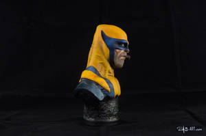 [GK painting #01] Wolverine bust - 007 by DasArt