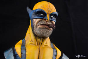 [GK painting #01] Wolverine bust - 009 by DasArt