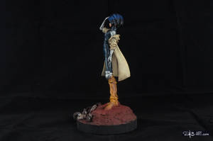 [Garage kit painting #02] Gally statue - 003 by DasArt