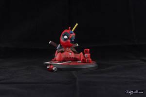 [Garage kit painting #04] Babypool statue - 001 by DasArt