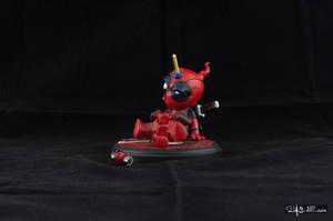 [Garage kit painting #04] Babypool statue - 002 by DasArt