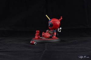 [Garage kit painting #04] Babypool statue - 003 by DasArt