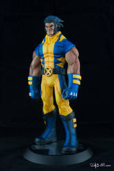 [Garage kit painting #05] Wolverine statue - 003 by DasArt